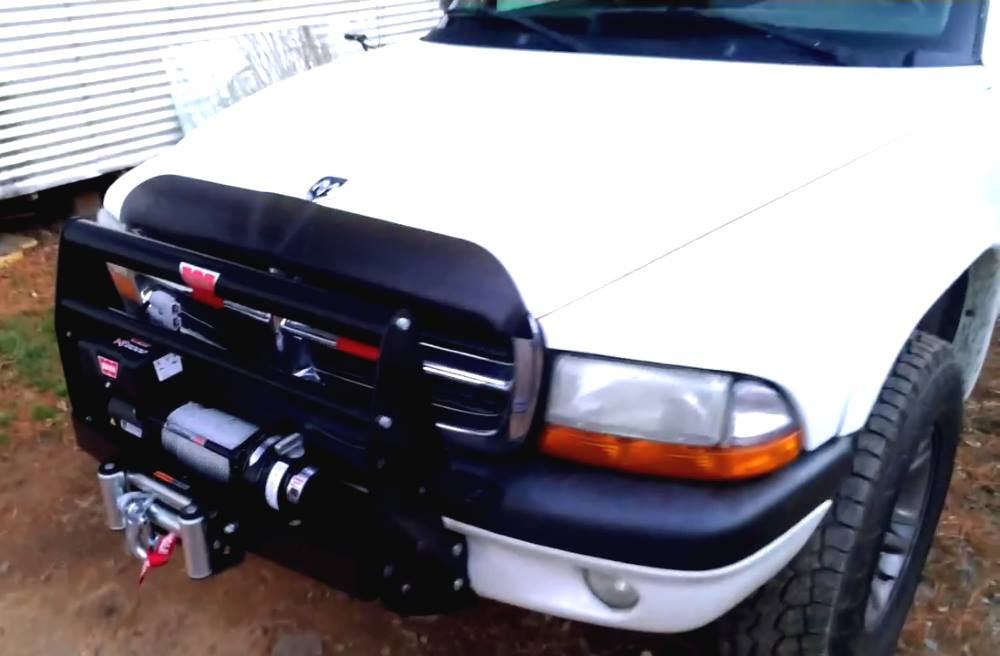 Warn VR8000 on Dodge Dakota