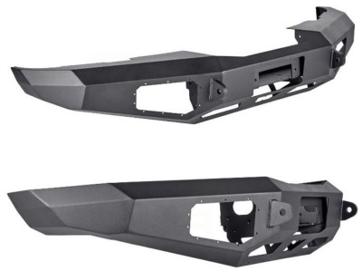 Warn Ascent Front Bumper view