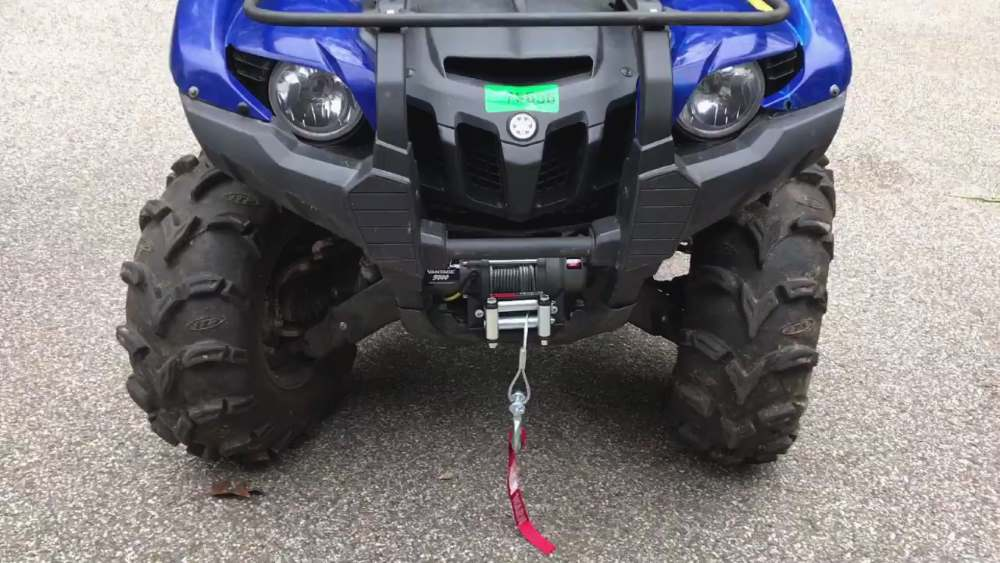 vantage 3000 on blue Yamaha Grizzly 700