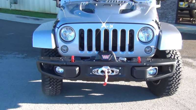 Zeon 8 on Jeep Rubicon metallic