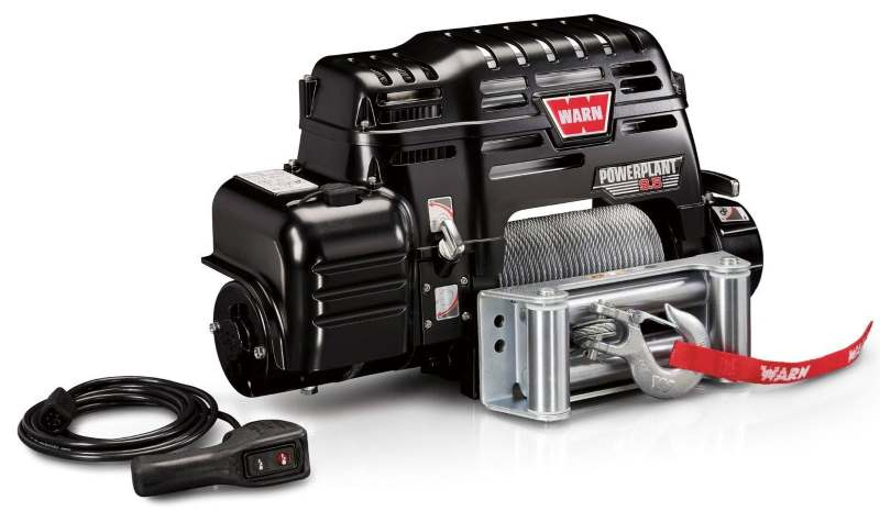 from the side: powerplant warn winch 91800