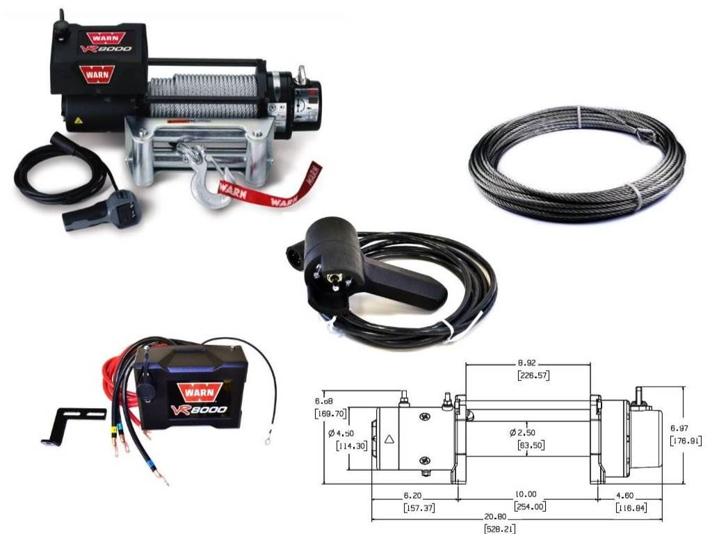 Warn Vr8000 8000 Lb Winch Review Pros And Cons Wiring Diagram